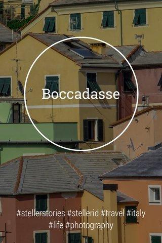 Boccadasse #stellerstories #stellerid #travel #italy #life #photography
