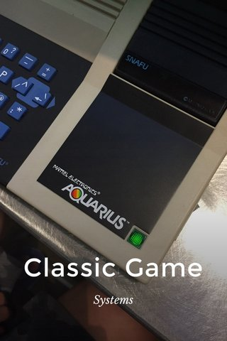 Classic Game Systems