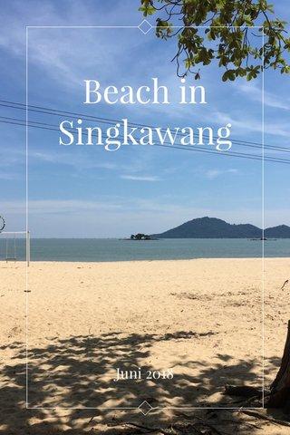 Beach in Singkawang Juni 2018