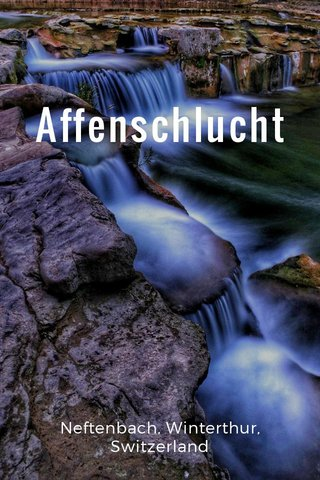 Affenschlucht Neftenbach, Winterthur, Switzerland