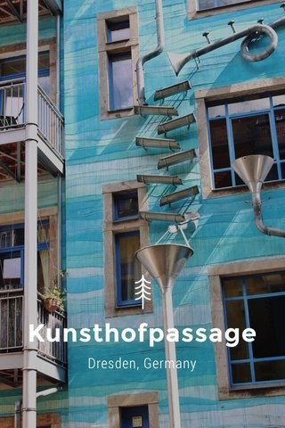 Kunsthofpassage Dresden, Germany