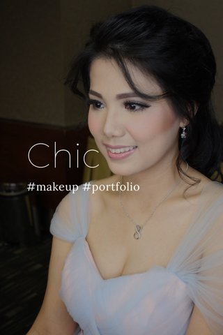 Chic #makeup #portfolio