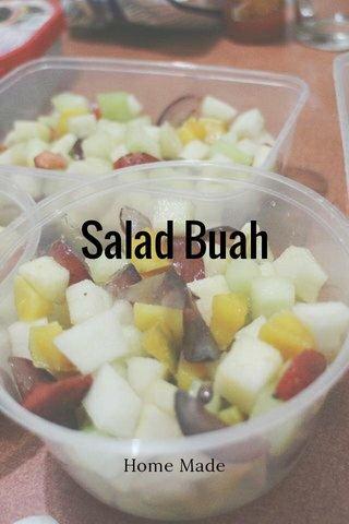Salad Buah Home Made
