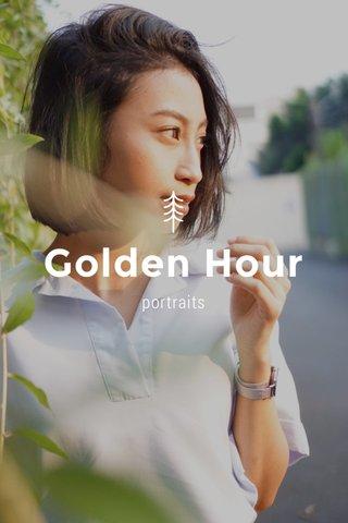 Golden Hour portraits