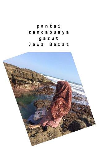 pantai rancabuaya garut Jawa Barat