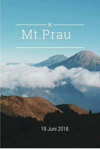 Mt.Prau 19 Juni 2018