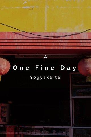 One Fine Day Yogyakarta