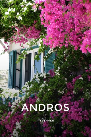 ANDROS #Greece