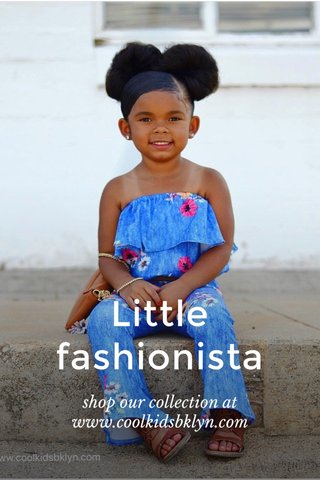 Little fashionista shop our collection at www.coolkidsbklyn.com