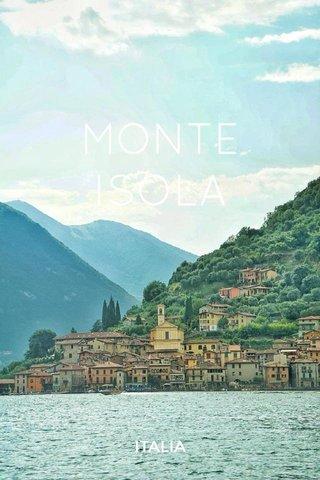 MONTE ISOLA ITALIA