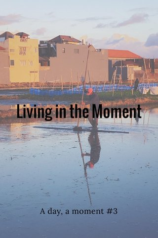 Living in the Moment A day, a moment #3