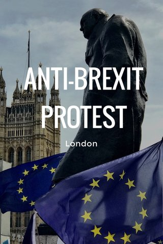 ANTI-BREXIT PROTEST London