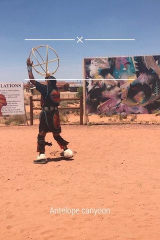 Antelope canyoon