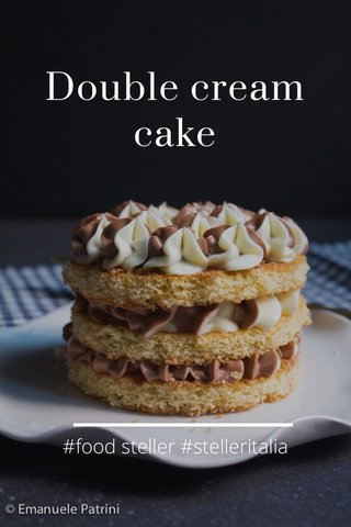 Double cream cake #food steller #stelleritalia