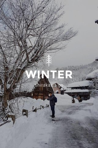 WINTER shirakawa-go