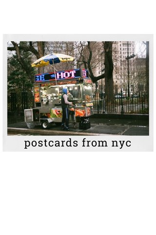 postcards from nyc