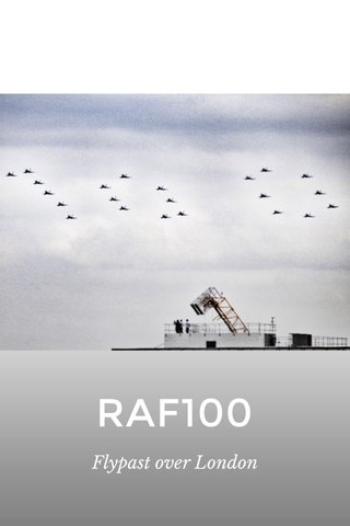 RAF100 Flypast over London