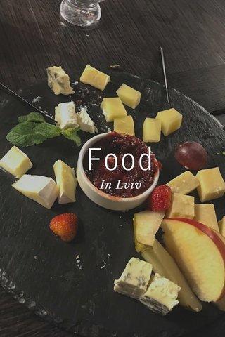 Food In Lviv