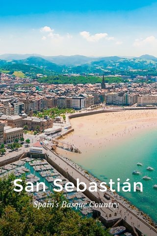 San Sebastián Spain's Basque Country