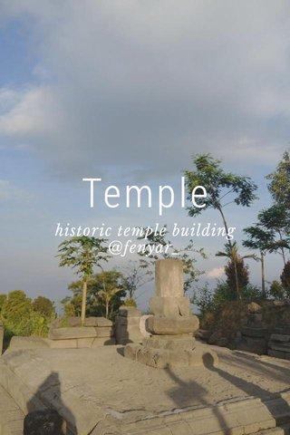 Temple historic temple building @fenyar_