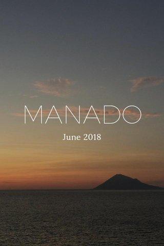 MANADO June 2018