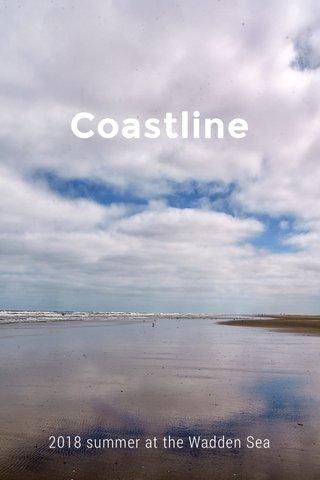 Coastline 2018 summer at the Wadden Sea