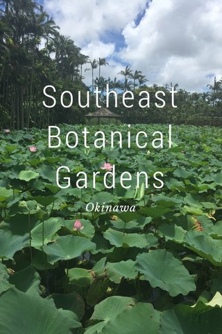 Southeast Botanical Gardens Okinawa