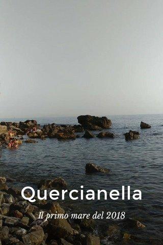 Quercianella Il primo mare del 2018