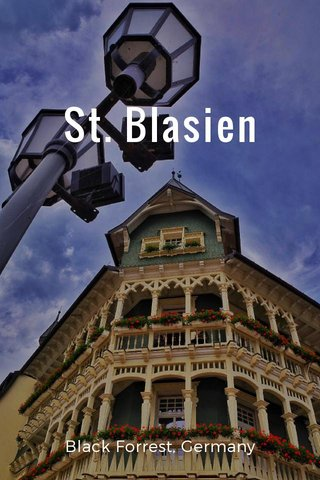St. Blasien Black Forrest, Germany