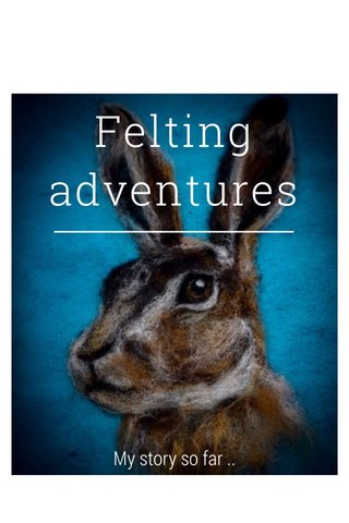 Felting adventures My story so far ..