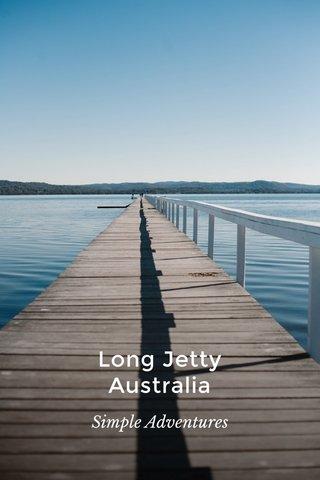 Long Jetty Australia Simple Adventures