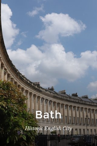 Bath Historic English City