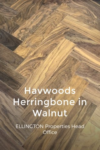 Havwoods Herringbone in Walnut ELLINGTON Properties Head Office