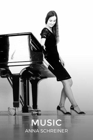 MUSIC ANNA SCHREINER