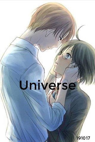 Universe 191017