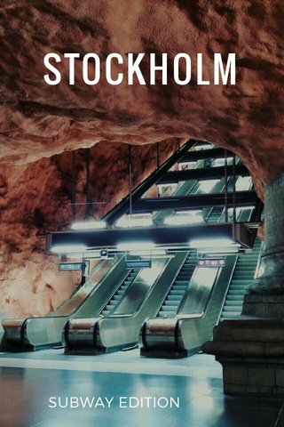 STOCKHOLM SUBWAY EDITION