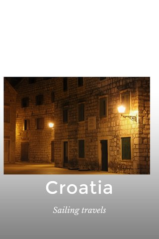 Croatia Sailing travels