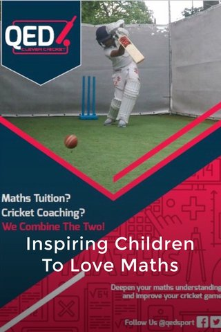 Inspiring Children To Love Maths