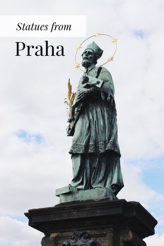 Praha Statues from