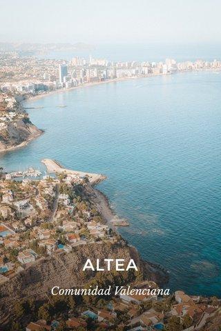 ALTEA Comunidad Valenciana