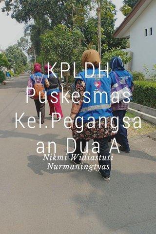 KPLDH Puskesmas Kel.Pegangsaan Dua A Nikmi Widiastuti Nurmaningtyas