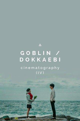 GOBLIN / DOKKAEBI cinematography (IV)