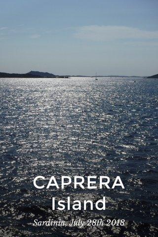 CAPRERA Island Sardinia, July 28th 2018