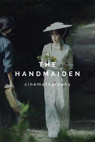 THE HANDMAIDEN cinematography