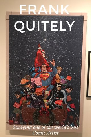 FRANK QUITELY Studying one of the world's best Comic Artist