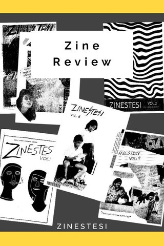 Zine Review ZINESTESI