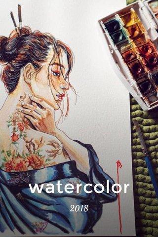 watercolor 2018