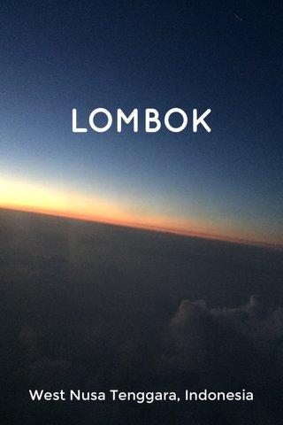 LOMBOK West Nusa Tenggara, Indonesia