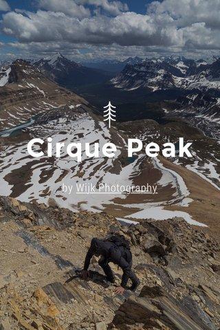 Cirque Peak by Wijk Photography