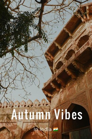 Autumn Vibes In India 🇮🇳